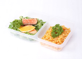 Ukázka krabičkové diety - oběd