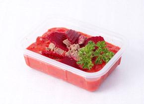 Ukázka krabičkové diety - večeře